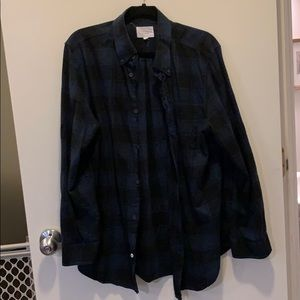 Five four long sleeve button down